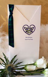 Celtic Heart Wedding Invitation