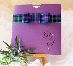 Tartan Wedding Stationery