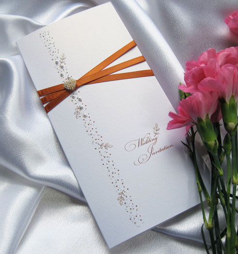 Autumn Gold Luxury Wedding Stationery