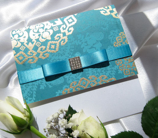 Morocco Jewel Wedding Invitation