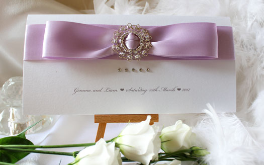 Pink Luxury Wedding Stationery