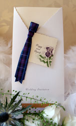 Scottish Wedding Invitation