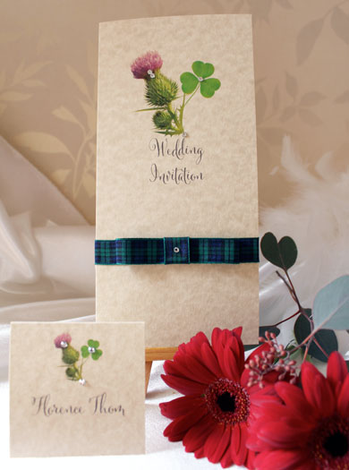 Scottish and Irish Wedding